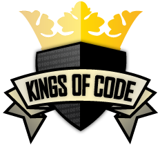 Kings of Code logo